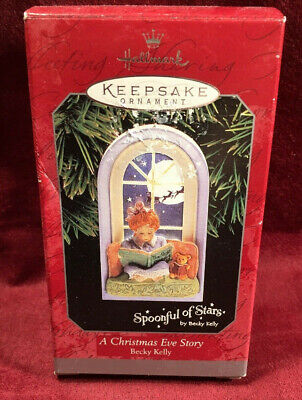 1998 Hallmark A CHRISTMAS EVE STORY Spoonful of Stars dated ORNAMENT ()