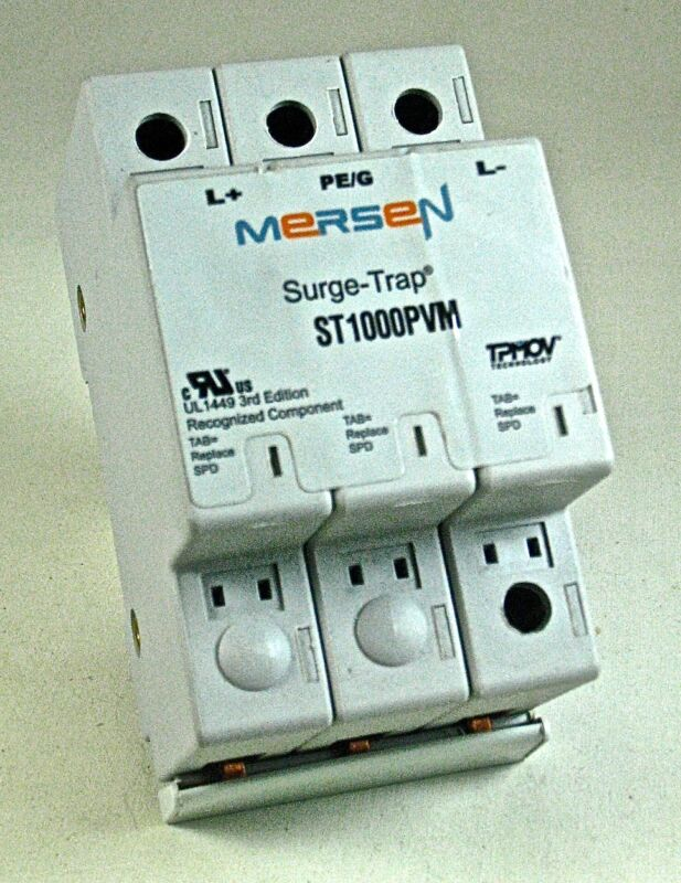 MERSEN Surge-Trap Modular Surge Protector Model ST1000PVM
