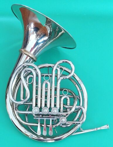Nice Holton  H-179 Double French Horn with Detachable Bell, Farkas Mpc, Case
