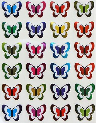 Butterfly Art Labels For Envelopes School Projects Colored Dot Stickers 120 Pack - Butterfly Art Projects