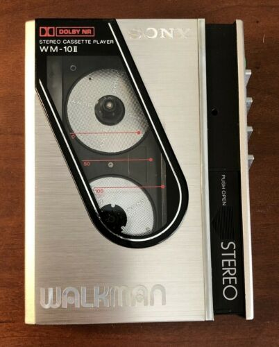 Sony Walkman WM-10 II Excellent Condition Refurbished Plays Great New Belt