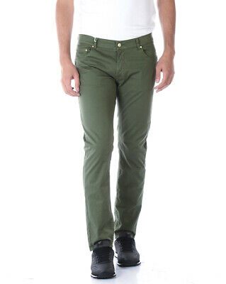 Daniele Alessandrini Jeans Trouser Man Green PJ4610TGL1003731 33 Sz.34 PUT OFFER
