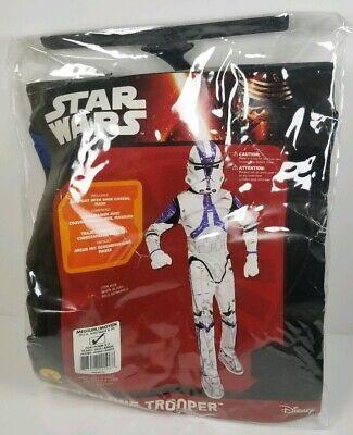 Star Wars 501st Clone Trooper Child Halloween Costume Size Medium 5-7 yrs - 501 Clone Trooper Kostüm