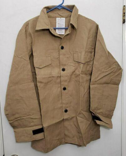 NEW 4.5 oz Nomex IIIA FR Wildland Fire Fighting Brush Shirt Khaki Tan Medium