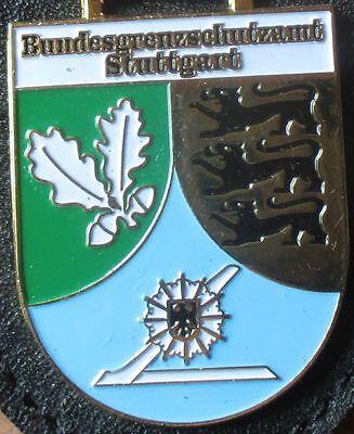 Brustanhänger Verbandsabzeichen Bundesgrenzschutzamt Stuttgart (R)