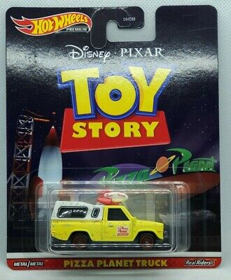 2020 Hot Wheels Premium Toy Story Pizza Planet Truck Real Riders