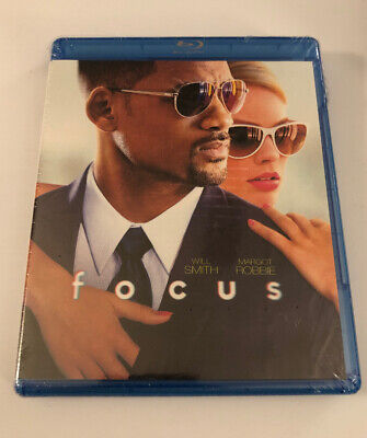 Focus (Blu-ray) Will Smith Margot Robbie New Free Shipping / (Focus Smith)
