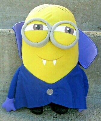 "VAMPIRE DAVE Minion Despicable Me 9"" Plush Toy Minions Illuminations Toy Factory (Minion Plush Toy)"
