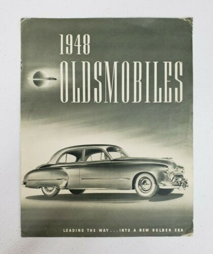 1948 Oldsmobile Sales Folder
