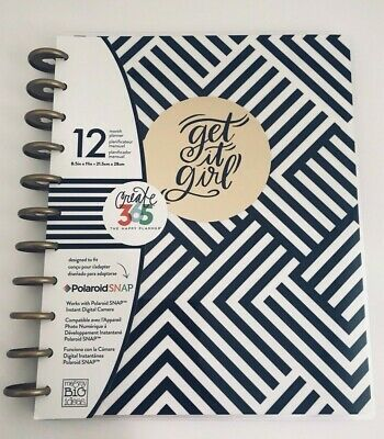 The Big Happy Planner Undated Big City Brights Get It Girl Black And Gold