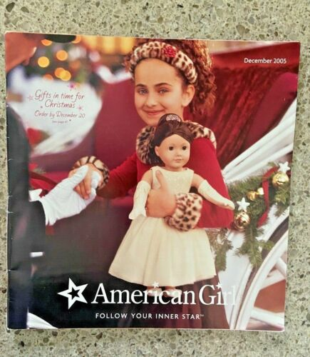 American Girl Doll CATALOG December 2005 Chocolate Cherry Outfit Felicity & more