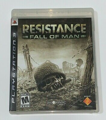 Resistance Fall of Man PS3 Game Sony Playstation 3 Complete Disk & Manual  for sale  Shipping to Nigeria
