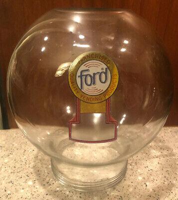 NOS Ford Vending Gumball Machine Glass Globe