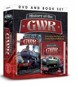 HISTORY OF THE GWR BOOK AND DVD GIFT SET - GREAT WESTERN RAILWAY - TRAINS