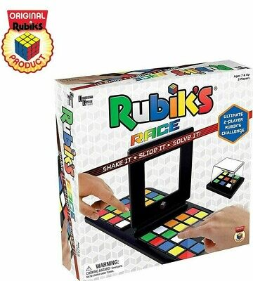 Board Games Rubik's Race 2 Player Game Strategy Challenge Pattern Family Play