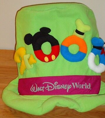Silly Hats For Adults (Walt Disney World 2000 MAD HATTER plush hat 13