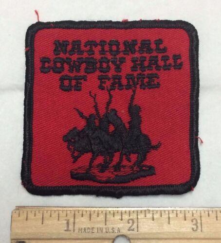 National Cowboy Hall of Fame Oklahoma OK Souvenir Patch