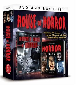 HOUSE OF HORROR BOOK & DVD GIFT SET - HAMMER HOUSE OF HORROR