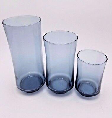 12 Oz Juice Glasses - 4 Libbey Bolero Blue Juice 6oz Cooler 16oz  Beverage 12oz Glasses YOU CHOOSE NOS