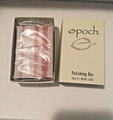Nu Skin Nuskin Epoch Polishing Bar Soap 3.4oz Remove dead skin dirt Oil NEW