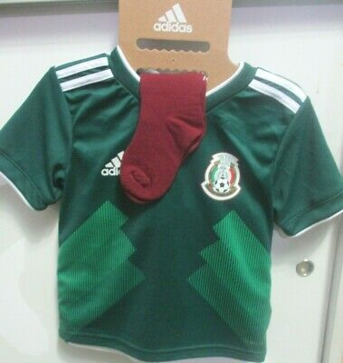 seleccion mexicana kid jersey toddler and short adidas authentic