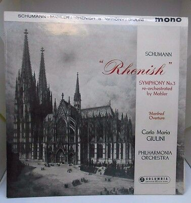 "Robert Schumann ‎""Rhenish"" Symphony No 3 re-orchestrated by Mahler HG078 BB 19"