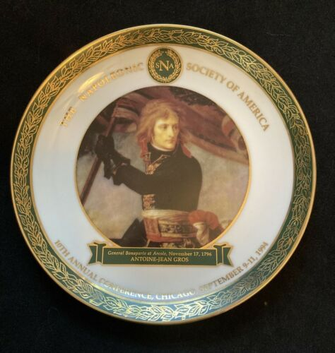NAPOLEONIC SOCIETY CONFERENCE PLATE ~ CHICAGO SEPT1994 EVC