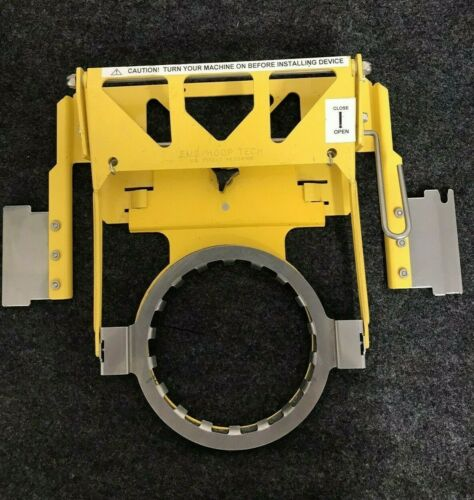 Used Yellow EMS/Hoop Tech Embroidery Machine Tubular Clamping System Q05-9