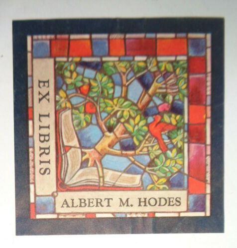 Albert M. Hodes, Ex Libris Bookplate - 1960s