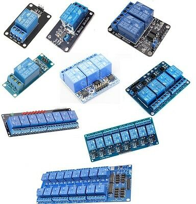 12468 Channel 5v Relay Board Module Optocoupler Led For Arduino Pic Arm Avr