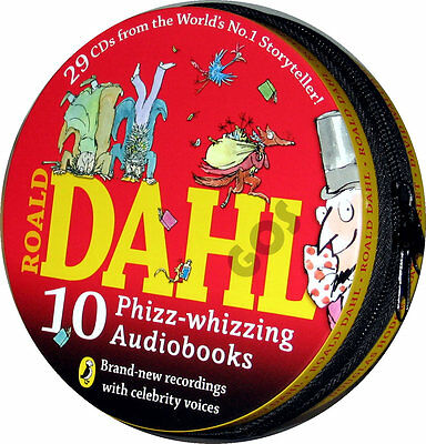 Roald Dahl Childrens Stories 29 CD Kids Audio Book tales Xmas Gift Boxset New