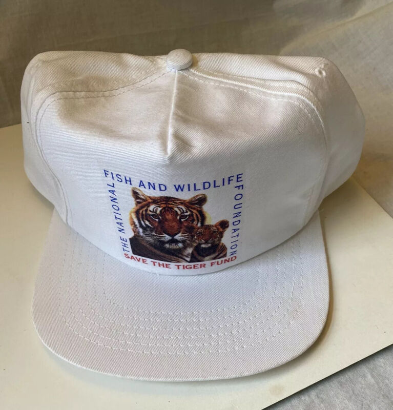 1995 VTG Exxon Save the Tiger National  & Fish & Wildlife Foundation Hat