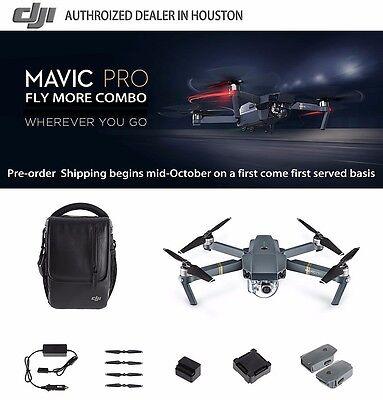 DJI Mavic Pro Fly More Combo, In Stock, In Hand