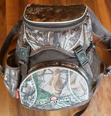 Igloo Sportsman Backpack Cooler RealTree Camouflage Insulated Outdoor Hiking
