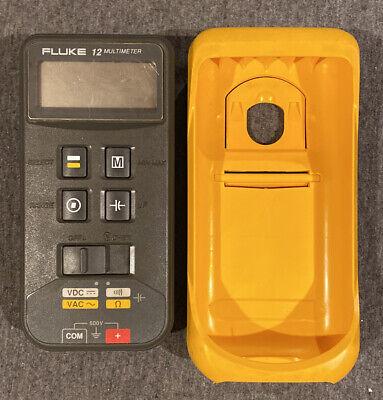 Fluke 12 Digital Multimeter Diode Tester Voltmeter