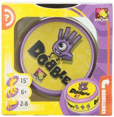 Asmodee-DOB01ES. Dobble. Juego de habilidad. De 2 a 8 jugadores