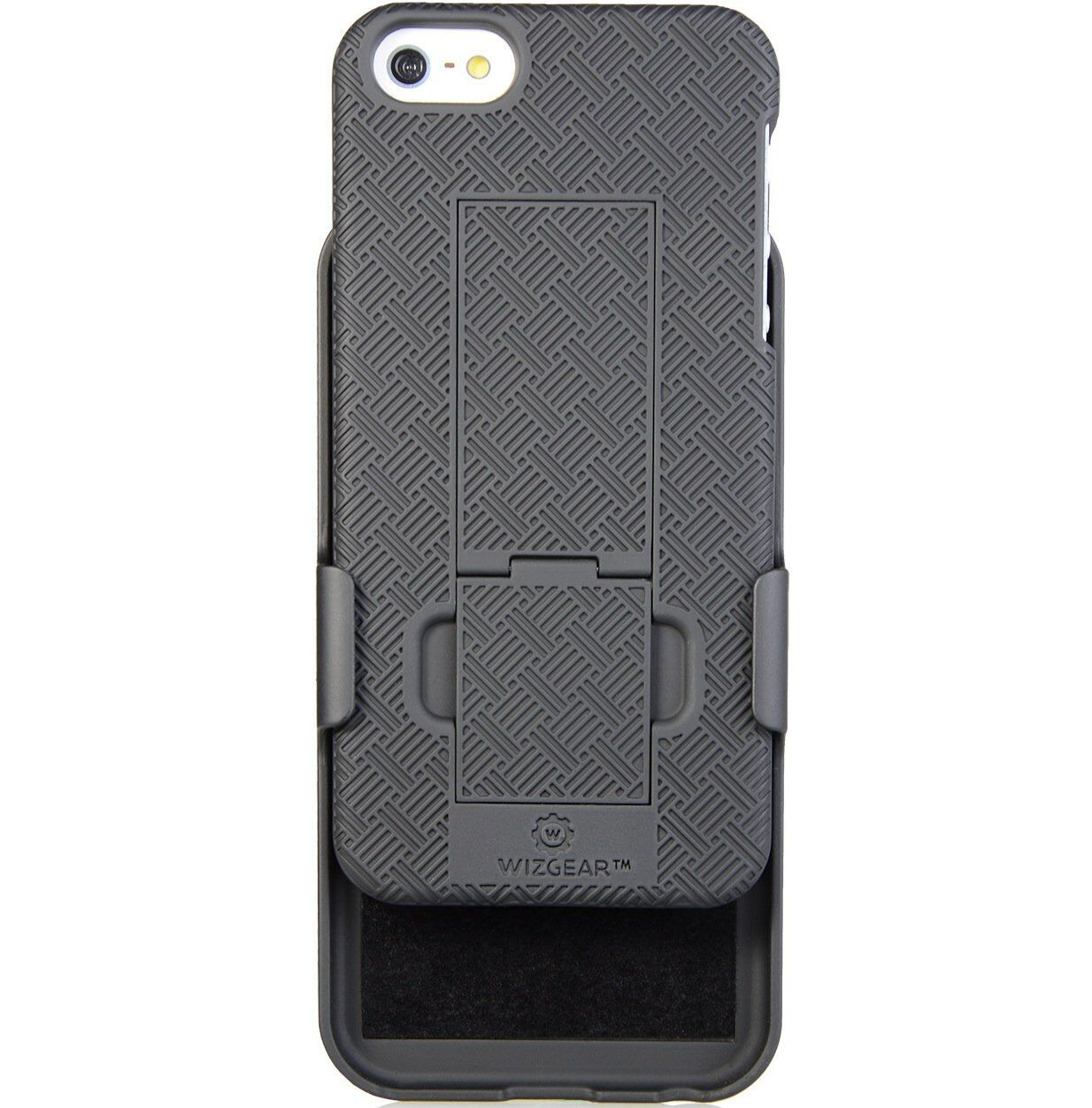 WizGear Shell Holster Combo Case for Apple iPhone Se / 5 / 5