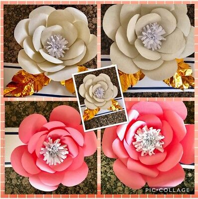 Paper Flower Template  2 Kit   Diy   Make Unlimited Flowers   Make All Sizes
