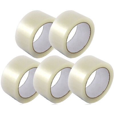New 2 Inch Premium Packing Tape 5 Rolls Of Clear Tape 2 - 110 Yards 330ft