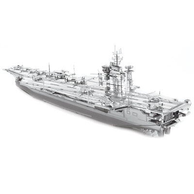 Metal Earth: Iconx USS Roosevelt Aircraft Carrier