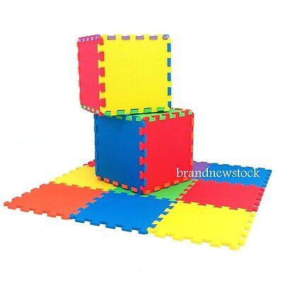 20pcs Eva Interlocking Kids Baby Soft Foam Activity Play Mat Set Tiles Flooring