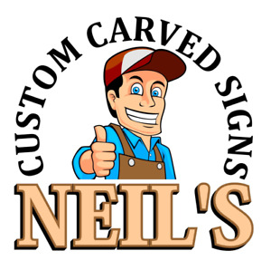 Neil's Custom Carved Signs