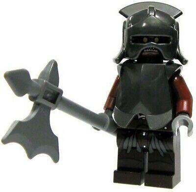 LEGO® Lord of the Rings Uruk Hai army minifigure breastplate helmet armor Hobbit