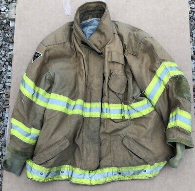 Janesville 2000 Turnout Bunker Coat Fire Fighting Firefighter Lion Gear 62 X 32
