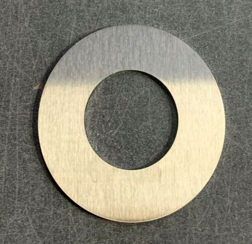 """1/8"""" x 4"""" OD x 2"""" ID BRUSHED Stainless Steel Ring x 4"""" OD x 2"""" ID, Washer, 4B"""