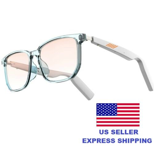 WGP Smart Audio Glasses Anti-Blue Light Open Ear Speaker with Bluetooth Connect