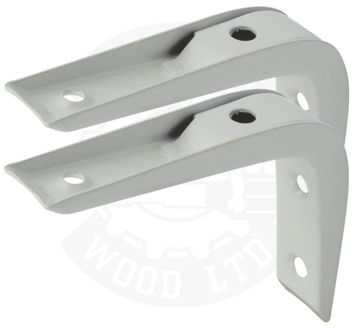 reinforced shelf brackets support wall bracket heavy duty. Black Bedroom Furniture Sets. Home Design Ideas