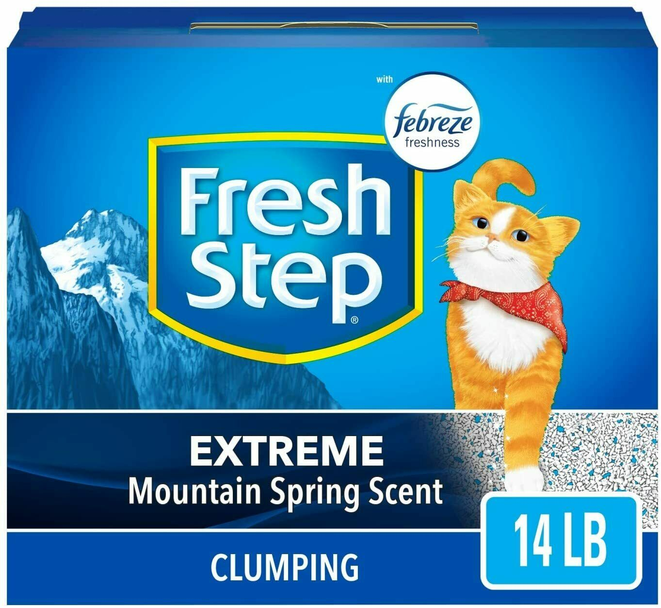 Fresh Step Extreme Scented Litter with The Power , Clumping