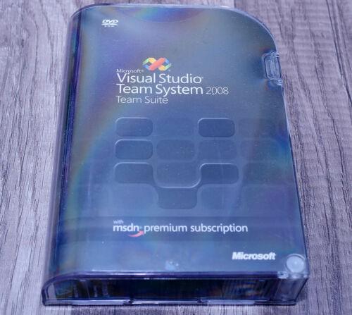 Microsoft Visual Studio Team System 2008 Team Suite pre-owned UEG-00020 GENUINE