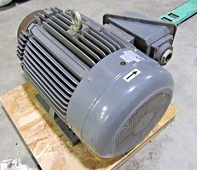 Teco Westinghouse 100 Hp 3 Ph 230460v Continuous Duty Motor Used Sold As Is